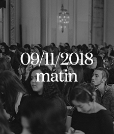 Vogue Fashion Festival 2018 - Masterclass - Vendredi 9 novembre Matin